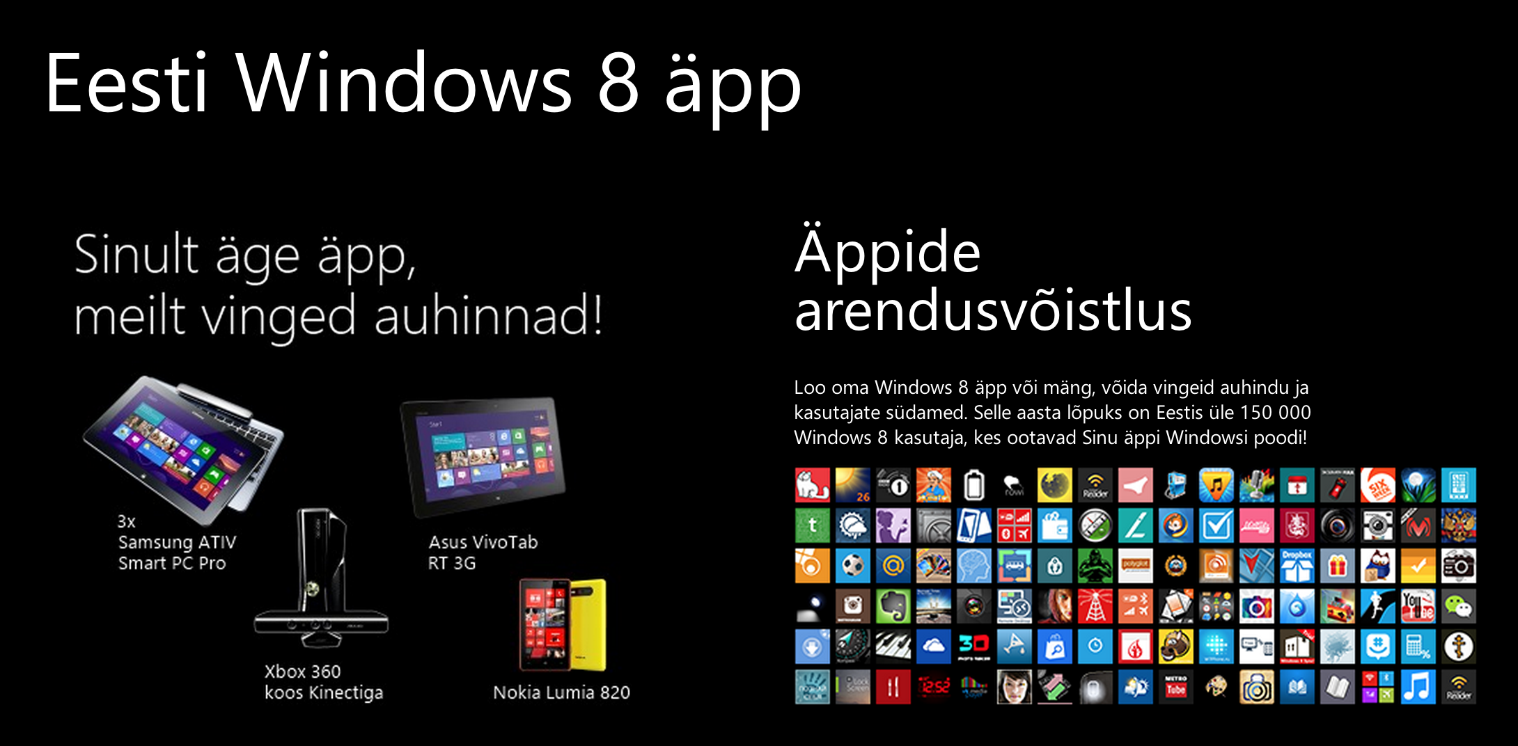 Eesti Windows 8 äpp – võistlus