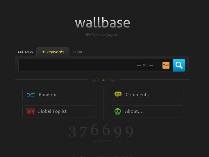 Wallbase – Sinu üks ja ainus taustapiltide otsingumootor