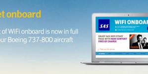 Lennufirma SAS arendab pardal pakutavat wifi teenust